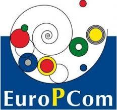 Het vorige EuroPCom logo (vervangen in 2017)