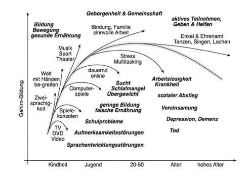 "Grafiek uit het boek ""Digitale Demenz"" van Manfred Spitzer (Droemer Knaur 2012, ISBN 9783426276037)."