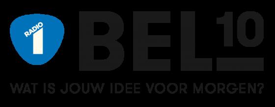 Logo van het BEL10 project van de VRT (2015)