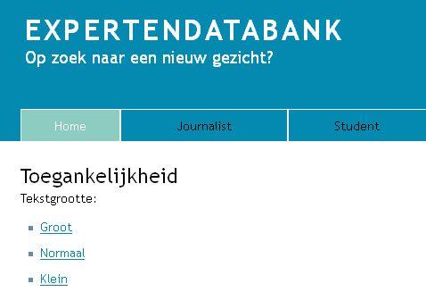Detail uit Expertendatabank.be (2013)