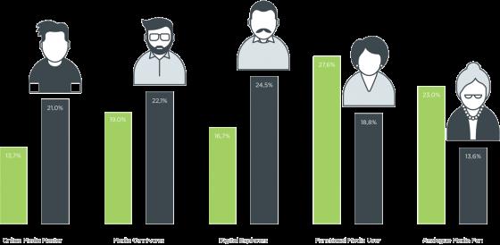 Profielen van de iMinds Digimeter (2014)